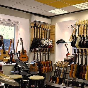 Музыкальные магазины Хомутово